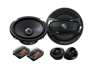 Pioneer TS-A1605C A-Series 6.5 350W Component Speakers