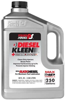 Power Service Cetane Boost Diesel Kleen Fuel Additive