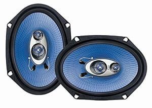 Pyle PL683BL 6 x 8-Inch 360-Watt 3-Way Speakers-min