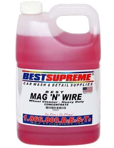 Mag N' Wire Wheel Cleaner