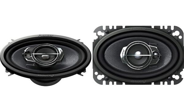 Pioneer TS-A4675R 4X6 3-Way Speakers