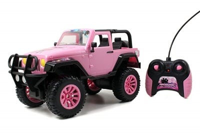 Jada Toys GIRLMAZING Big Foot Jeep RC Vehicle
