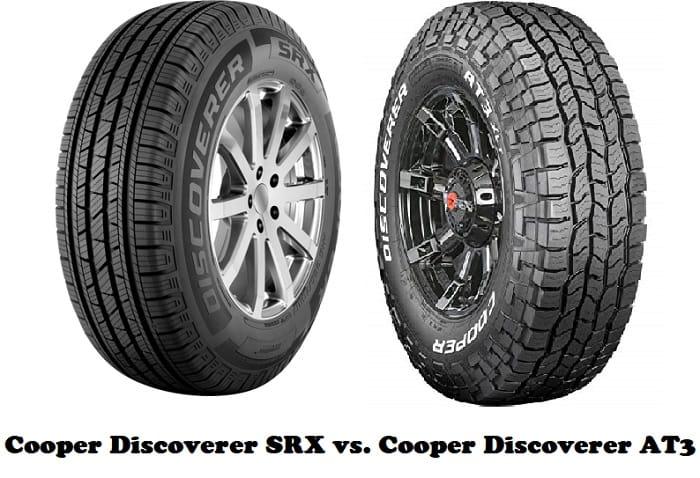 Cooper Discoverer SRX vs. Cooper Discoverer AT3
