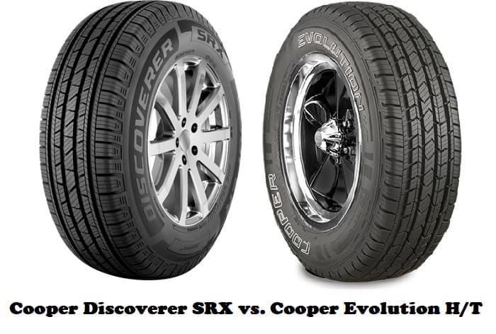 Cooper Discoverer SRX vs. Cooper Evolution HT
