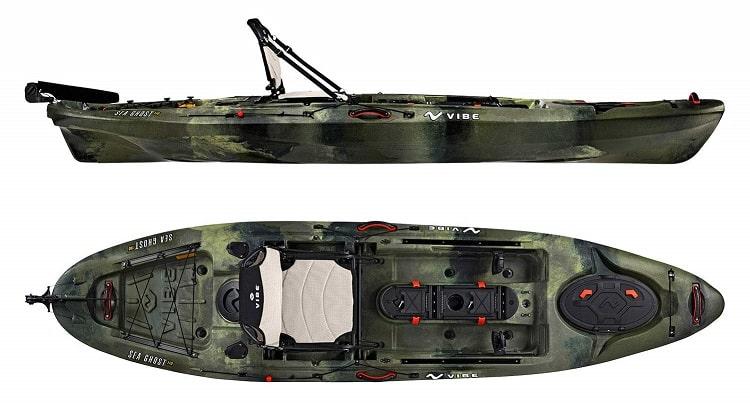 Vibe Kayaks Sea Ghost 110