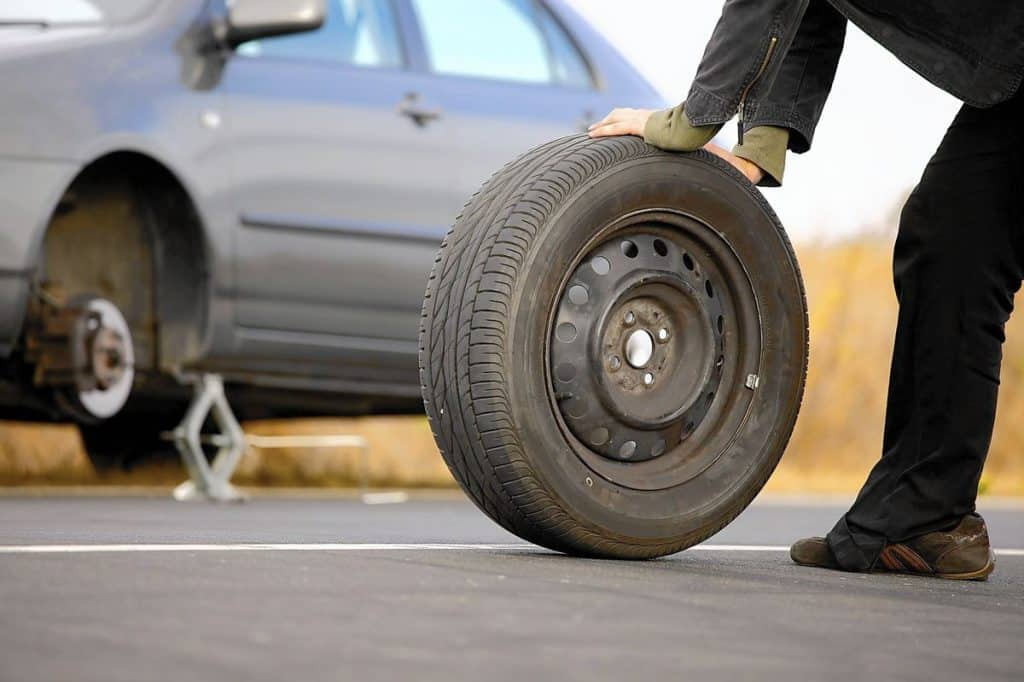 How long can you drive on a spare tire