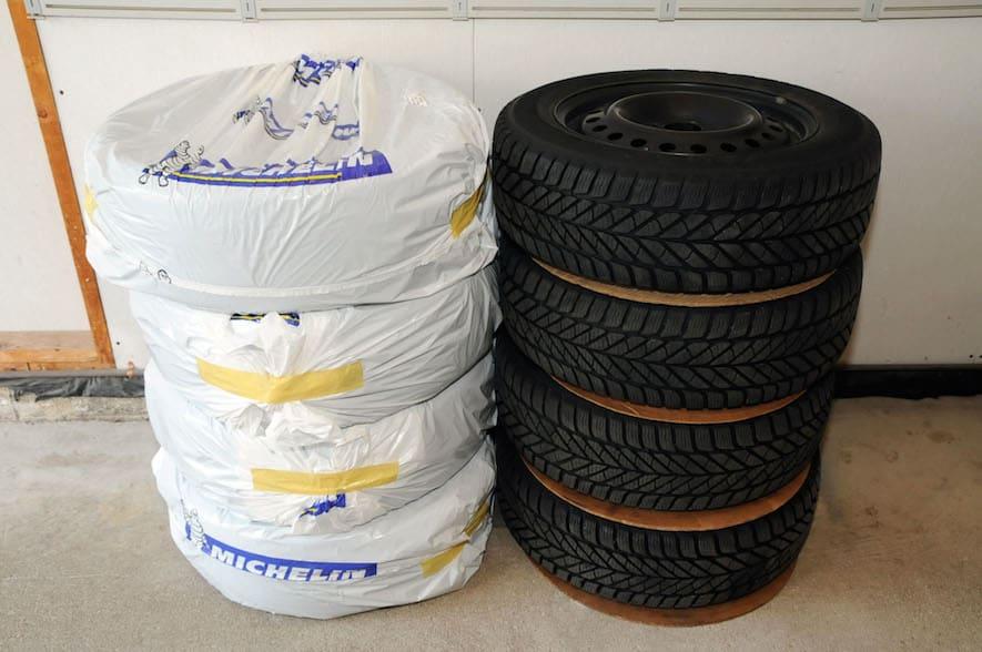 Bag tires -2
