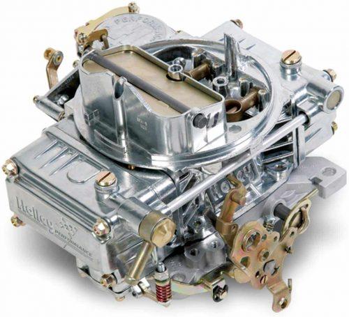 Holley 0-1850sa Aluminum 600 CFM 4 Barrel Street Carburetor