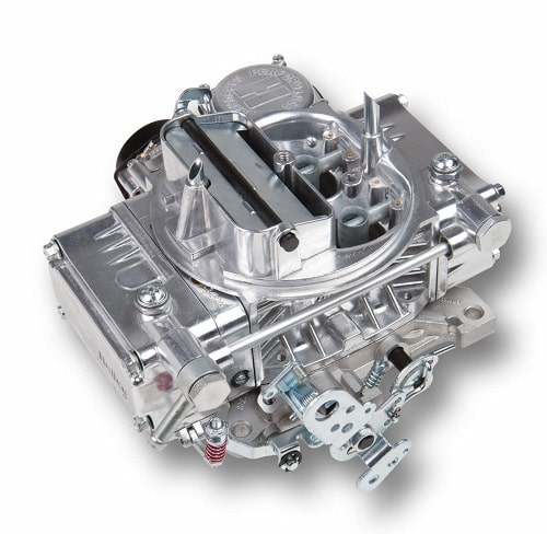Holley 0-80457S Model 4160 600 CFM Square Flange 4 Barrel Vacuum Secondary Electric Choke Carburetor