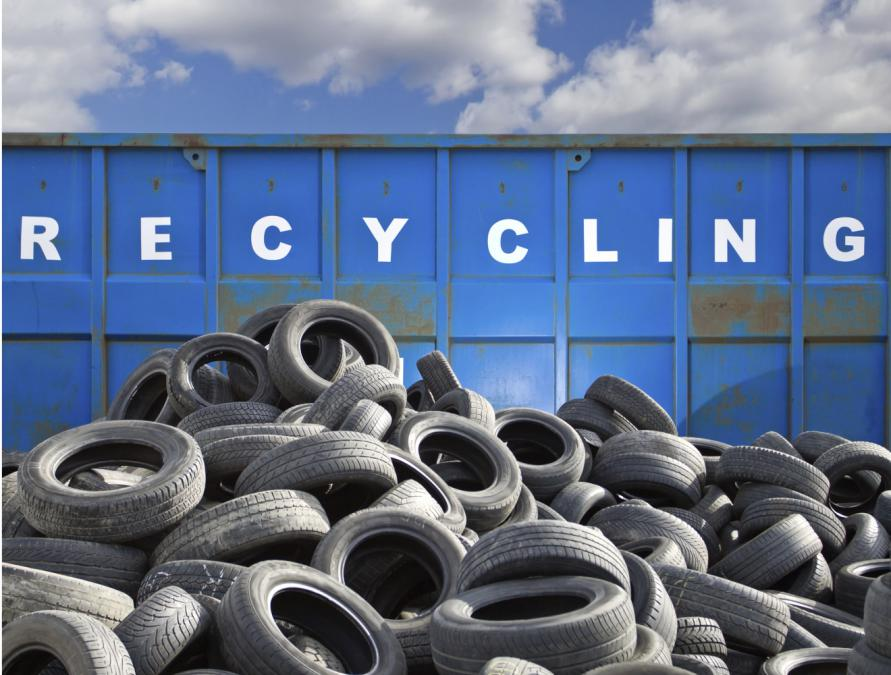 How can tires be recycle
