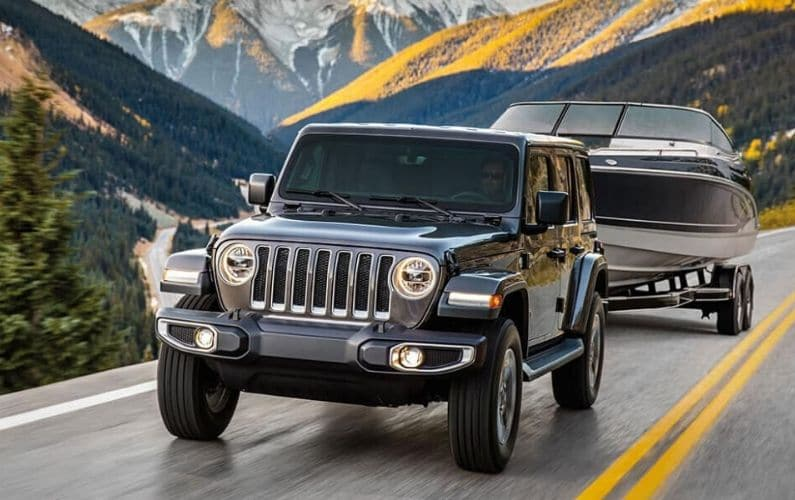 How Much Can a Jeep Wrangler Tow - Feature Image