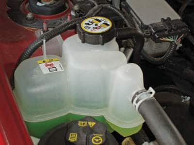 Can you drive a car with a coolant leak