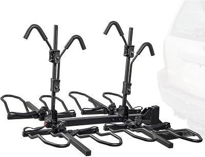 Overdrive Sport 4-Bike Hitch Mounted Rack