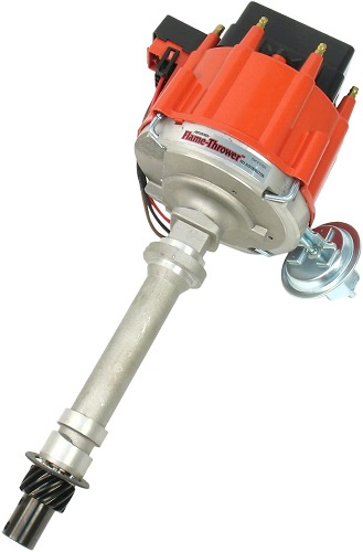PerTronix D1001 Flame-Thrower Red Cap Distributor HEI