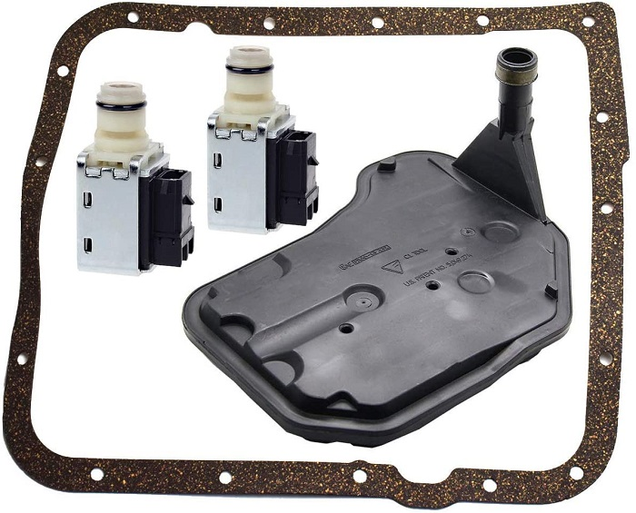 TOPEMAI 4L60E Shift Solenoid and Transmission Filter Gasket Kit